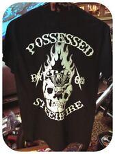 Possessed By Steel & Fire skull and engine harley knucklehead biker flash art hd