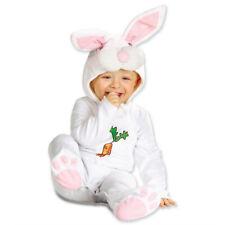 Baby Hasenkostüm 90 cm, 1-2 Jahre, Hase Kostüm Overall, Plüsch Strampler Häschen
