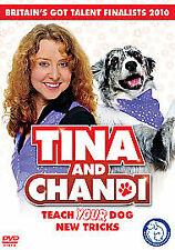 1 of 1 - Tina And Chandi - Teach Your Dog New Tricks (DVD, 2010)