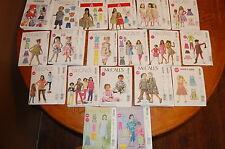 McCall Children Child Kids Size Sewing Pattern, Uncut & Folded-Pick a pattern