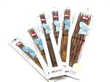 Prym Knit Pro Natural Nadelspiel Strumpfnadeln aus laminiertem Birkenholz