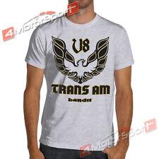 1977 Firebird V8 Trans Am Bandit White or Gray T-Shirt