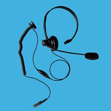 Pro-Grade Overhead Single Muff Earphone for Motorola Radio MOTOTRBO XPR3000