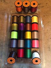 Uni Waxed 6/0 Thread - 200yd Spool Fly Tying - Workhorse of fly tying threads