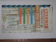INTER - FIORENTINA BIGLIETTO TICKET 1995/96 SERIE A