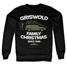 Licenza Ufficiale Griswold Famiglia Natale Felpa Taglie S-XXL