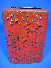 Beautiful 70´s design Scheurich Relief Pottery/Relief VASO IN CERAMICA 263 -15