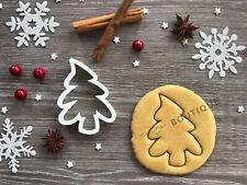Tree Xmas Cookie Cutter 06 | Christmas | Fondant Cake Decorating | UK Seller