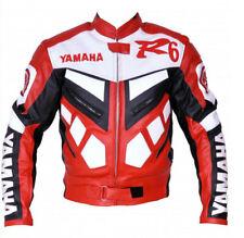 YAMAHA R6 Chaqueta de Motorista de Deportes Chaqueta de Cuero de Motocicleta