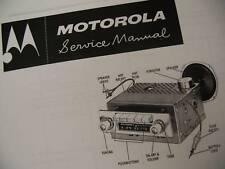 HUGE MANUAL MOTOROLA Home Radio SERVICE MANUAL CD