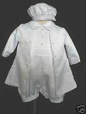 New Infant, toddler Boy Easter Christening Baptism Romper Suit for 18M-30M white