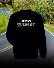 BMW R1200 RT  SWEATSHIRT  Front and Back Logo's...BLACK