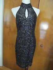Ralph Lauren women's black sequen NWT dress size 8,14,16 retail value $194