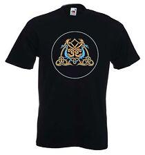 Águila Celta Druida Camiseta-Pagano Wicca GOTH GOTHIC-Elección de Colores Libre P&P