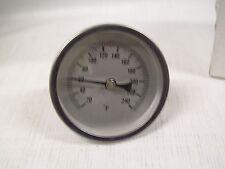 "Bi-Metal Dial 1/2"" Npt Thermometer J40-561"