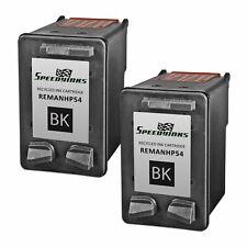 2pk HP CB334AN 54 HY Blk Deskjet F4135 F4140 F4150 F4172 F4180 F4185 FAX 3180