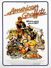 American Graffiti - 1973 - Movie Poster