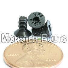 M3 x 8mm Flat Head Socket Cap Screws 12.9 Alloy Steel w Black Ox DIN 7991 Coarse
