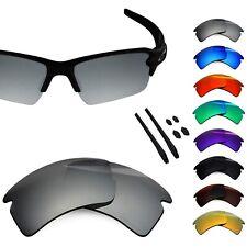 BlazerBuck Polarized Etching Replacement Lenses for-Oakley Flak 2.0 XL - Options