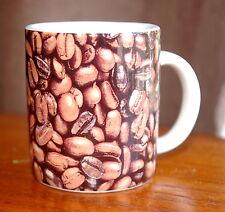 Starbucks Coffee Company 2007 Espresso 2.9oz Shot Tiny Mini Mug Roasted Beans