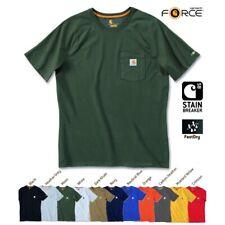 Carhartt maglietta Force cotone NUOVO Collezione Attuale S M L XL XXL