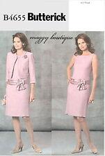 Butterick B4655 Designer Jacket & Dress Sewing Pattern ~ Maggy Boutique