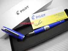 (Tracking no.) Pilot FPR-3SR Prera Fine Fountain Pen Royal Blue +6 Cartridges