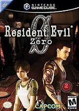 Resident Evil Zero GameCube Video Games-Good Condition