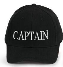 Kids broderie casquette de baseball filles garçons junior enfants chapeau d'été noir