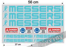 MESSERSI Adesivi Decalcomanie MINI registrati con Cassone Ribaltabile Escavatrice mini escavatori