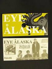 Eye Alaska Yellow & Elephant Bike Amp Board Sticker