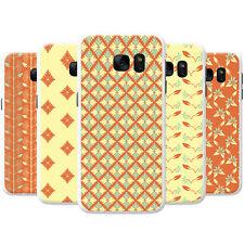 Orange Yellow Diamonds & Foliage Hard Case Phone Cover for Motorola Phones
