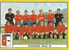 FIGURINE CALCIATORI EDIS 1969 / 70 * PIACENZA    * SQUADRA - NUOVA