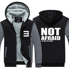 Rap God Eminem Hoodie Fleece Hooded Coat Winter Zipper Jacket Warm Sweatshirt