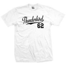 Thunderbird 62 Script Tail Shirt - 1962 T-Bird Classic Car - All Size & Colors