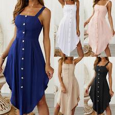 New Women Summer Boho Dress Evening Cocktail Party Beach Dress Sundress ZG9
