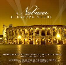 CD Nabucco von Giuseppe Verdi Arena Di Verona  2CDs