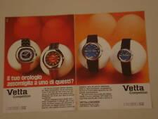 advertising Pubblicità 1972 OROLOGIO VETTA COMPETITION