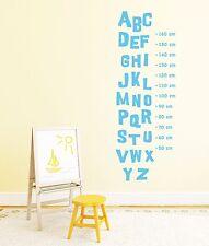 Charming Wandtattoo Messlatte Kinderzimmer Wandaufkleber Buchstaben Maßband  Pkm214(165)