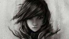 277417 Final Fantasy xiii FF Lightning Face Girl TV Game PRINT GLOSSY POSTER FR