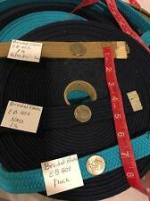 1 Yard Stretch Elastic Braid webbing belt,straping ,waist band 1 1/4 U Pick