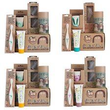 Jack n Jill Kids Baby Organic Oral Care Gift Pack Set Toothbrush/Toothpaste