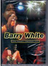 "BARRY WHITE   ""Live Concert  Frankfurt 1975""  DVD RARO Nuovo Sigillato"