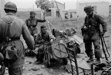 WWII Photo Fallschirmjäger Troops Commo Gear WW2 World War Two Luftwaffe Germany