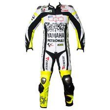 Hombres Deportes Carreras Motociclet Cowhide Cuero 1 Pieza Traje ES