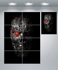 The Terminator Skull Giant Wall Art poster Print