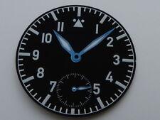 Cadran Aiguilles FLIEGER pilote Type A 6498 ETA Unitas watch dial 36.4mm
