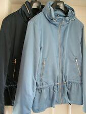 EX M&S per una Ladies Storm Wear Lightweight Outdoor Peplum Jacket Coat 16 - 24