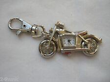 Ladies Geneva Motorcyle Keychain Watch - Harley Davidson Biker  Fans
