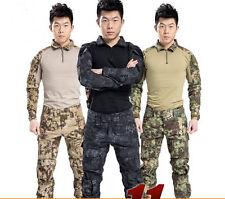 Gen3 Combat Uniform Shirt & Pants Military Airsoft GEN3 MultiCam Camo BDU Typhon